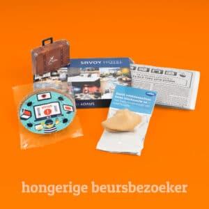 Geschenken voor hongerige beursbezoeker l Pelster Promotions