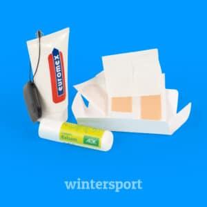 Een overlevingspakket voor wintersporters l Pelster Promotions