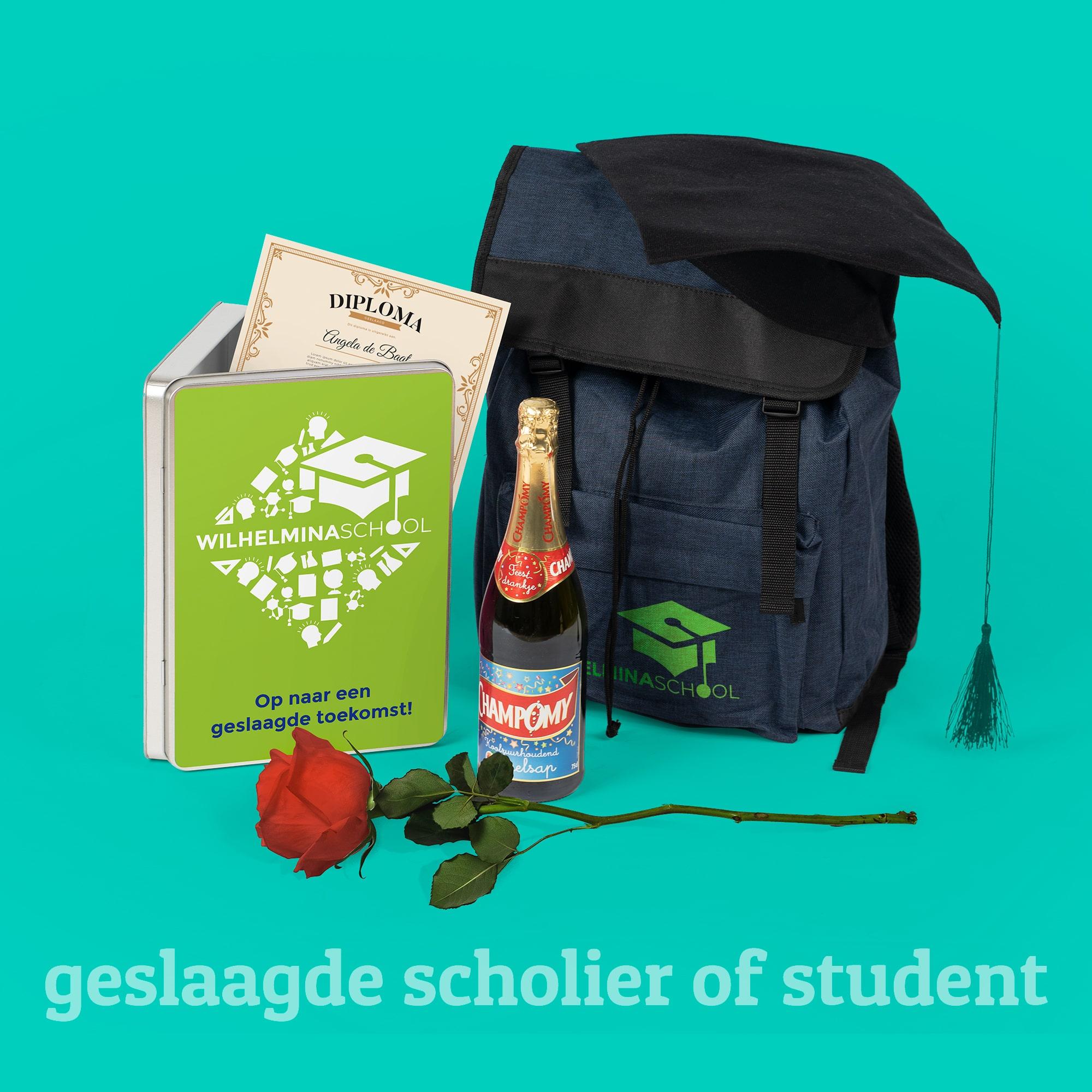 Geschenken voor de geslaagde scholier of student l Pelster Promotions