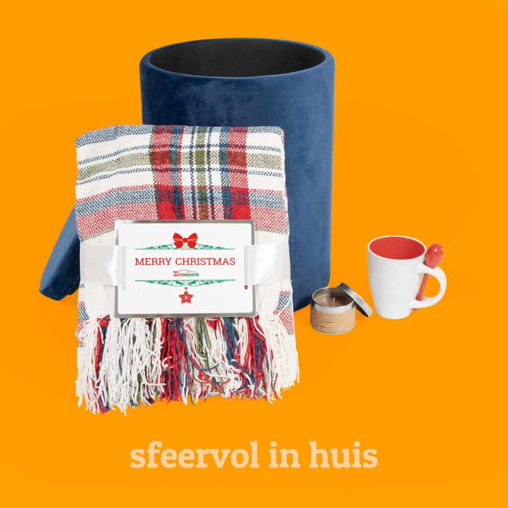 Winters geschenkpakket voor sfeer in huis l Pelster Promotions