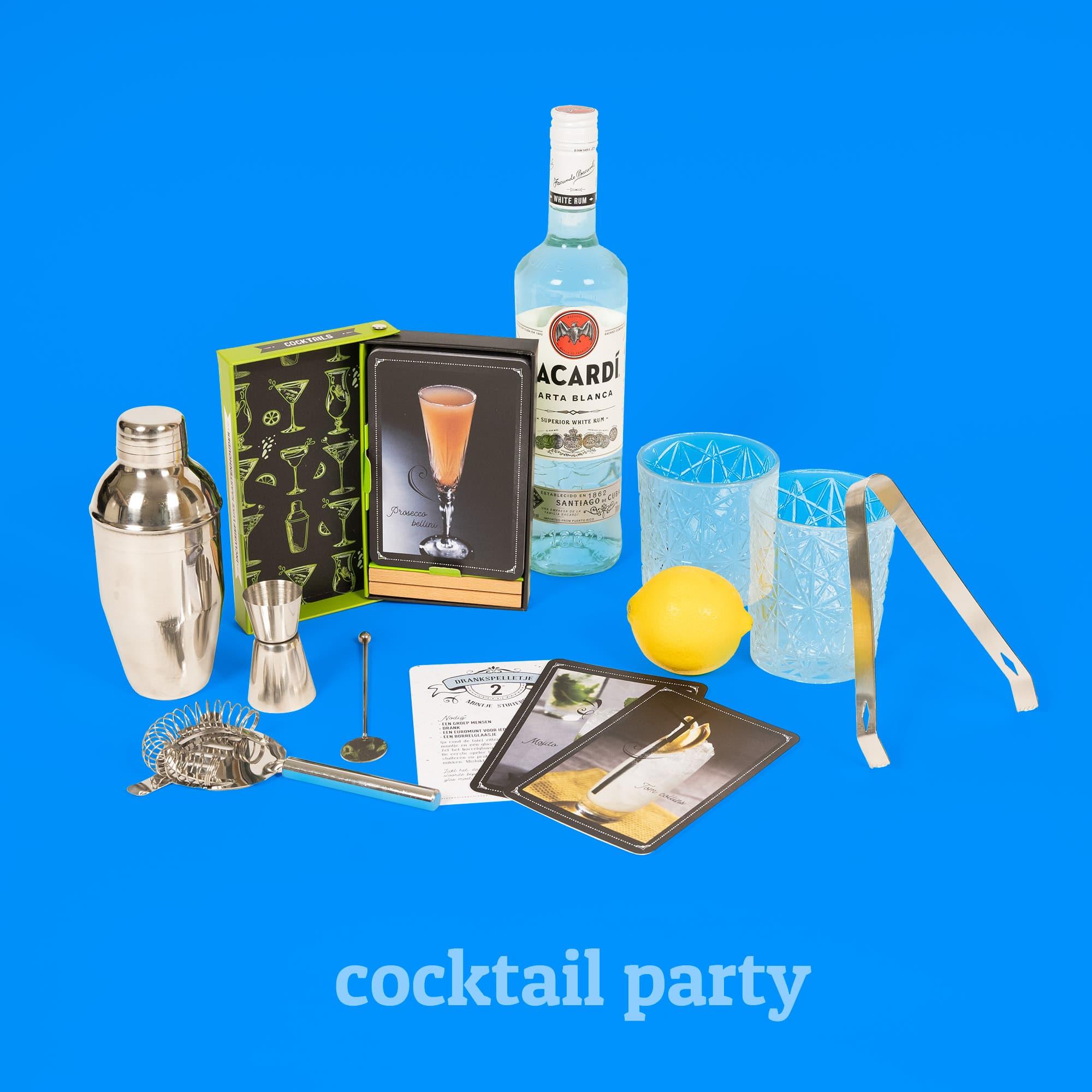 Cocktail party kerstpakket