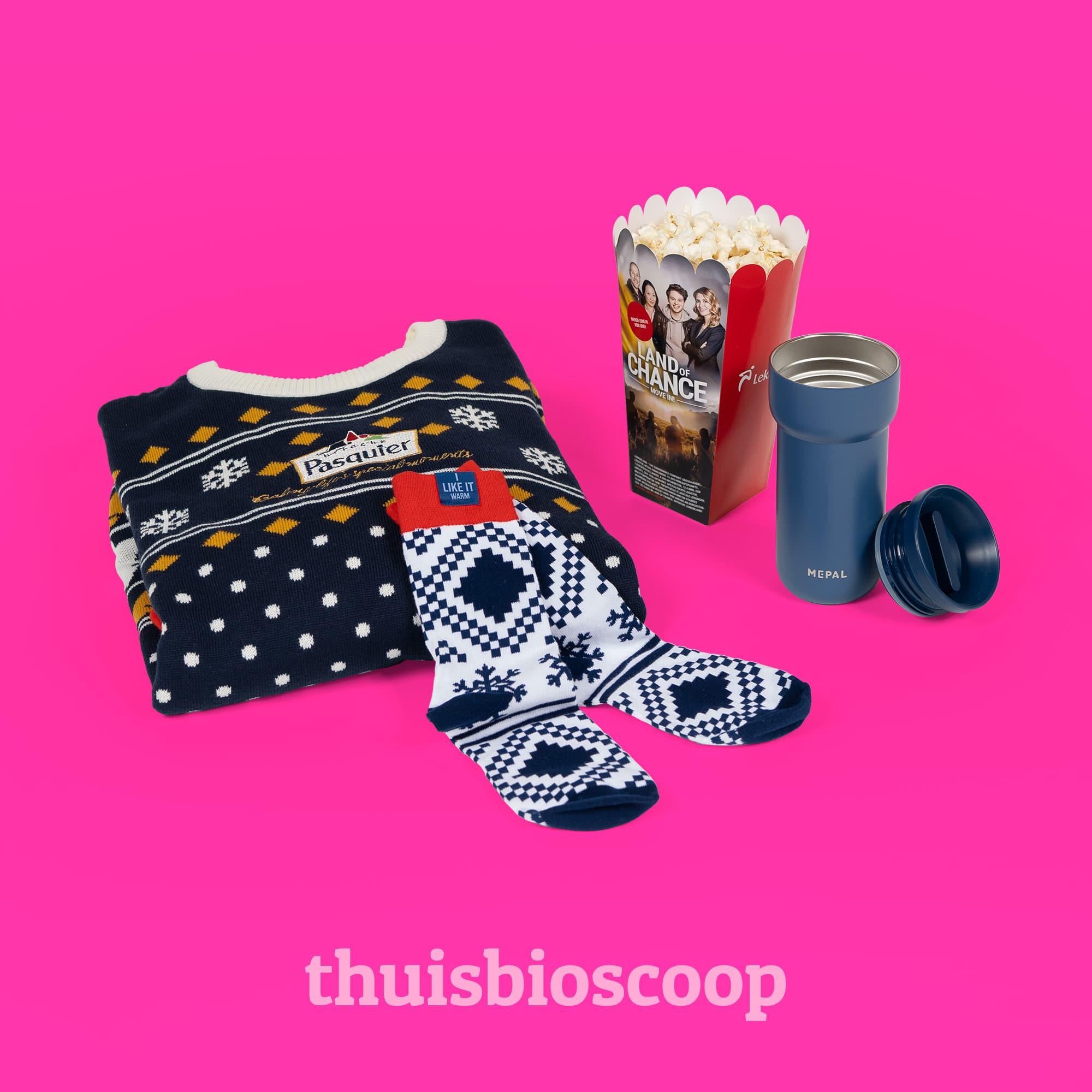 Thuisbioscoop kerstpakket l Pelster Promotions